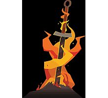 The Coiled Sword  Photographic Print