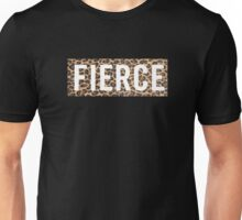 Fierce Leopard Unisex T-Shirt