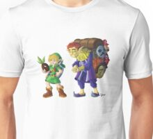 Link and the Happy Mask Salesman, no background Unisex T-Shirt