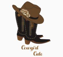 Cowgirl Cute One Piece - Short Sleeve