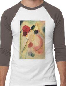 Kandinsky - Untitled   Men's Baseball ¾ T-Shirt