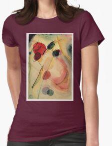 Kandinsky - Untitled   Womens Fitted T-Shirt