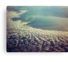 Clouds from plane Canvas Print