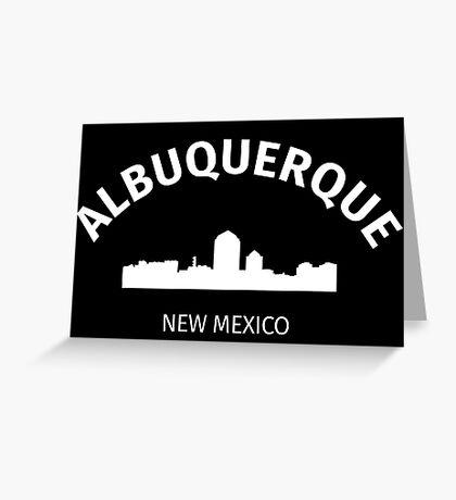 Albuquerque Greeting Card