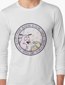 courage the cowardly dog Long Sleeve T-Shirt