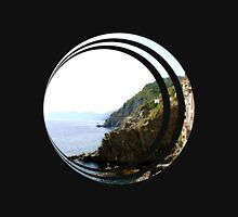 Cinque Terre, Italy Photo | Abstract Unisex T-Shirt