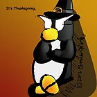 Penguin Card - Thanksgiving by CaptainCharlesW