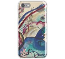 Kandinsky - Study For Improvisation V iPhone Case/Skin
