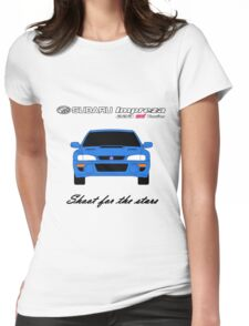 22B - Shoot for the stars Womens Fitted T-Shirt