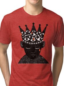 Crown of Tears - Corona de Lagrimas Tri-blend T-Shirt