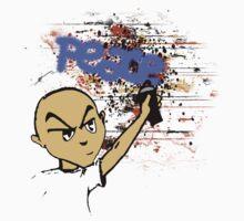 Peace Graffiti - Grunge  One Piece - Long Sleeve