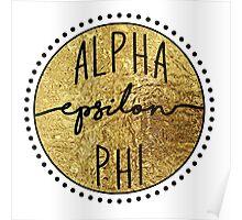 Alpha Epsilon Phi Poster