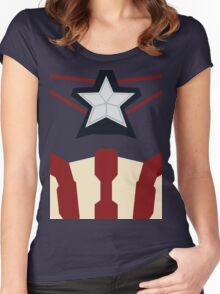 Captain of Avenging Women's Fitted Scoop T-Shirt