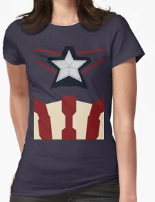 Captain of Avenging Womens Fitted T-Shirt