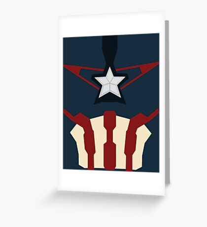Captain of Avenging Greeting Card