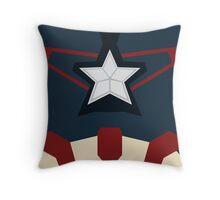 Captain of Avenging Throw Pillow