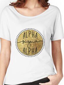 Alpha Sigma Alpha Women's Relaxed Fit T-Shirt