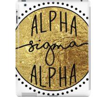 Alpha Sigma Alpha iPad Case/Skin