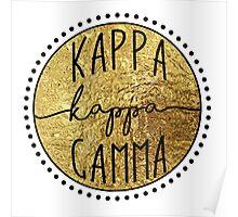 Kappa Kappa Gamma Poster