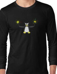 Sparkler Penguin Long Sleeve T-Shirt