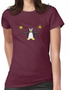 Sparkler Penguin Womens Fitted T-Shirt