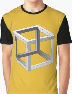 Mind blowing Escher's cube Graphic T-Shirt