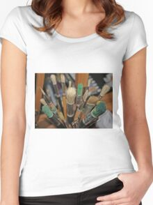 Which Brush? Women's Fitted Scoop T-Shirt