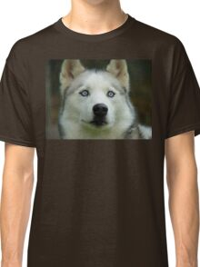Look Into My Baby Blues!!! - Siberian Husky - NZ Classic T-Shirt