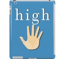 High Five! | White High iPad Case/Skin