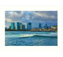 Honolulu Turquoise - Impressions of Hawaii Art Print