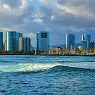 Honolulu Turquoise - Impressions of Hawaii by Georgia Mizuleva