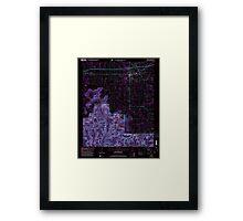 USGS TOPO Map Alabama AL Moulton 304610 2000 24000 Inverted Framed Print