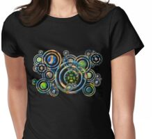 Galactic Gears Womens Fitted T-Shirt