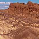 Red Cathedral From Zabriskie Point, Death Valley, Inyo County, CA by Rebel Kreklow