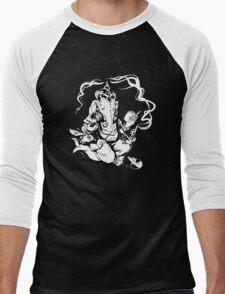 Nerdy Ganesha Men's Baseball ¾ T-Shirt