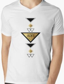 Alpha Delta Pi Mens V-Neck T-Shirt