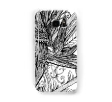 Wild Bird - Bird of Paradise Ink Drawing Samsung Galaxy Case/Skin