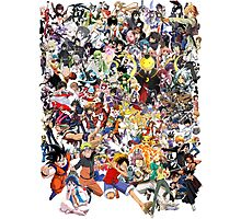 Anime mix - All Animes (Allstar Anime) Photographic Print