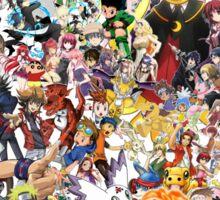 Anime mix - All Animes (Allstar Anime) Sticker