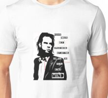 Nick cave - right out of your hand lyrics Unisex T-Shirt