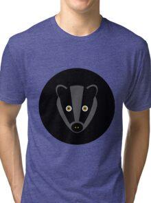 Black Badger Tri-blend T-Shirt