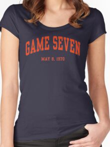 Game Seven Women's Fitted Scoop T-Shirt
