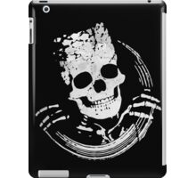 Grunge Skeleton Funny Skull Design iPad Case/Skin