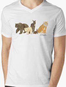 100 Acres Mens V-Neck T-Shirt