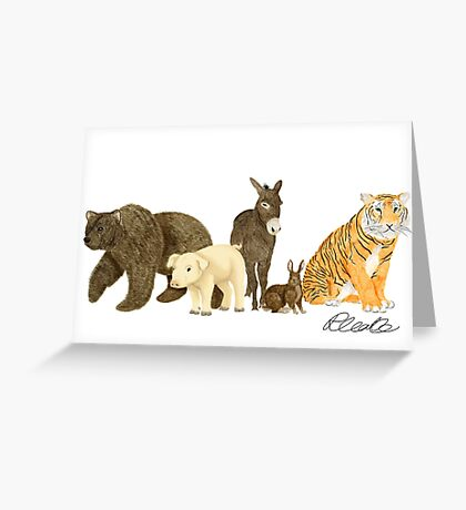 100 Acres Greeting Card