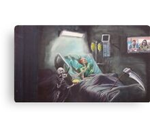 Forget About The F@cking Toe Canvas Print