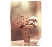 Danbo and Nutella Poster