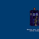 Time And Relative Pixels: Fourth Doctor by Riott Designs
