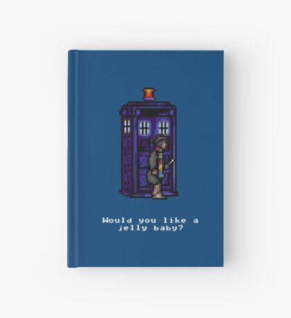 Time And Relative Pixels: Fourth Doctor Hardcover Journal