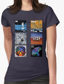 Muse - Albums Womens Fitted T-Shirt